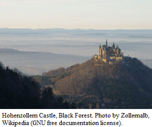 Hohenzollern Castle in the Black Forest by Zollernalb - Wikipedia