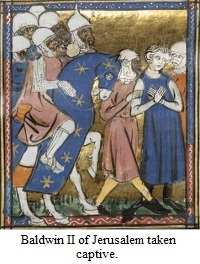 Baldwin II of Jerusalem taken captive