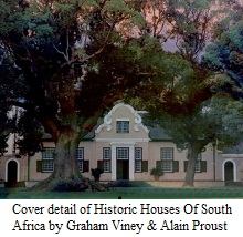 Cover detail of Historic Houses Of South Africa