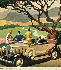 1932 car ad - photo by Alden Jewell at Flickr