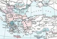 The Byzantine Empire in 1265 - Wikimedia