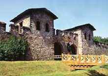 Saalburg - Taunus ridge - Germany - 1st century Roman border fort