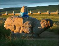 Stone Turtle at Karakorum - photo by Frithjof Spangenberg via Wikipedia
