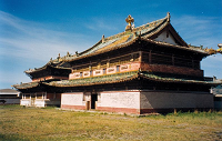 Erdene Zuu monastery - Mongolia - photo by Doron via Wikipedia