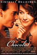Chocolat film poster 2000