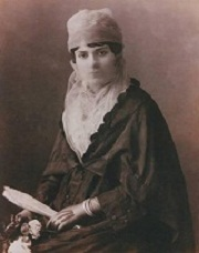 "Ottoman woman of Istanbul c 1890 from Dersaadet'in Fotoğrafçıları"" by Bahattin Öztuncay"