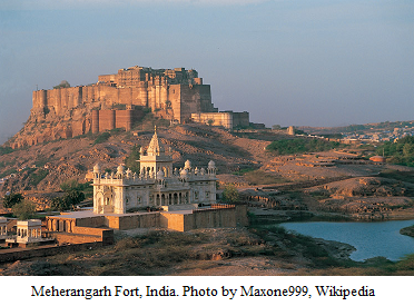 Meherangarh_Fort_India_Maxone999_Wikipedia