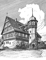 A Damenstift in Germany circa 1906 (Wasungen)