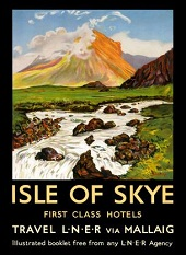 Isle of Skye 1950s advertisement
