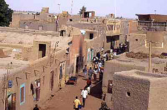 Mopti in Mali - photo by Hanumann via Flickr