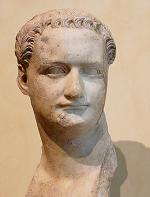 Domitianus - Roman emperor 81-96 - bust in Capitoline Museum - Rome