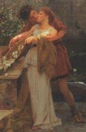 Detail of painting by Henryk Siemiradzki