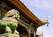 Detail of Bogd Khaan Winter Palace - Ulan Bator previously known as Urga - photo by Kok Leng Yeo via Flickr