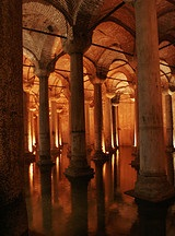 Yerebatan - Basilica cistern - Istanbul - photo by karmakazesal via Flickr