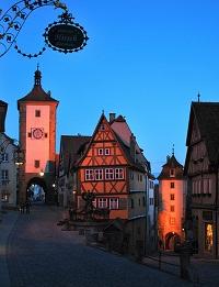 Rothenburg - Bavaria - photo by Abhijeet Rane via Flickr