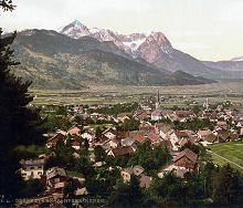 Partenkirchen - Bavaria - c 1890 to 1905 - via Wikimedia