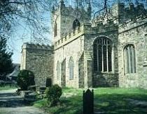 Church of St Mary and St Nicholas- Beaumaris - Anglesey - image via UKattraction dot com