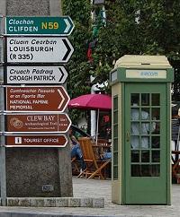 Signs in Westport in County Mayo - Ireland - photo by Mark Waters via Flickr