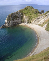 Man O'War cove - Dorset - England - photo by Jim Champion via Wikimedia