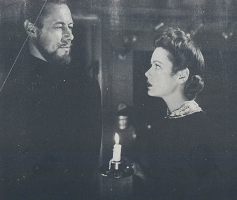 Rex Harrison and Gene Tierney in The Ghost And Mrs Muir