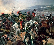 Battle Of Balaclava - painting by Richard Caton Woodville