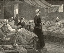 Florence Nightingale in Crimea