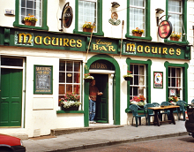 A rather more attractive pub than MacGuire's in Pomegranate Soup - photo by Corinna Schleiffer via Wikipedia - Creative Commons 2.0