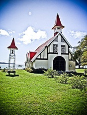 Chapel at Cap Malheureux - Mauritius - photo by Kabilen Sornum via Flickr