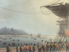 British Army at Mauritius in 1810 - Richard Temple