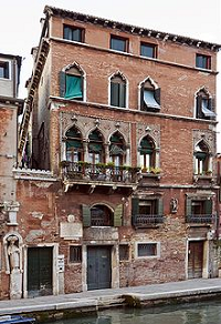 House of Tintoretto - Cannaregio - Venice - photo by Didier Descouens via Wikimedia