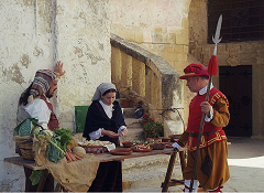Reenactors in Valletta on Malta - photo by Marek Silarski via Wikimedia