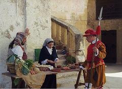 Reenactors in Valletta on Malta - photo by Marek Silarski via Wikimedia