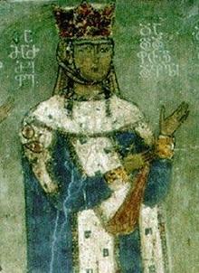 Queen Tamar - Betania Monastery - Georgia