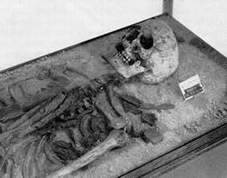 Remains of Tin Hinan - image via the Amazon Research Network at myrine dot at