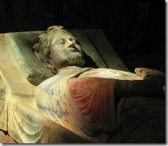 Effigy of King Richard I of England - Fontevraud - France - photo by ecololo via Flickr
