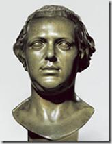 Bust of Franz Anton Mesmer by Franz Xaver Messerschmidt 1770