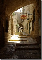 Street in Jaffa - Israel - photo by Symmetry Mind via Flickr