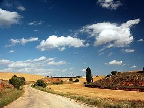Castile - La Mancha landscape - image by Diego Sevilla Ruiz via Flickr Attribution-NonCommercial 2.0 Generic