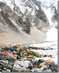 Everest Base Camp - Nepal - detail of photo by ilkerender via Flickr