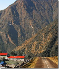 Tenzing-Hillary Airport - Lukla - Nepal - detail of photo by Tom2008Tom via Flickr