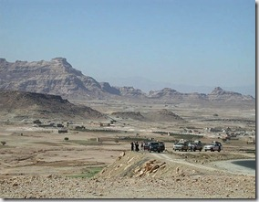 The road to Marib - Yemen - image by kebnekaise via Flickr