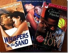 Whispers In The Sand by LaFlorya Gauthier - Dark Storm Rising by Chinelu Moore - In The Light Of Love by Deborah Fletcher Mello - photo by Danielle @ The Romantic Armchair Traveller