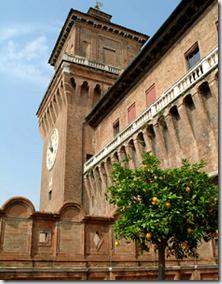 Castello Estense - the d'Este castle - Ferrara - Italy - photo by Massimo Baraldi via Wikimedia Commons CC 2.5