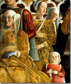 Detail of The Court of Mantua by Andrea Mantegna - image via Wikimedia Commons